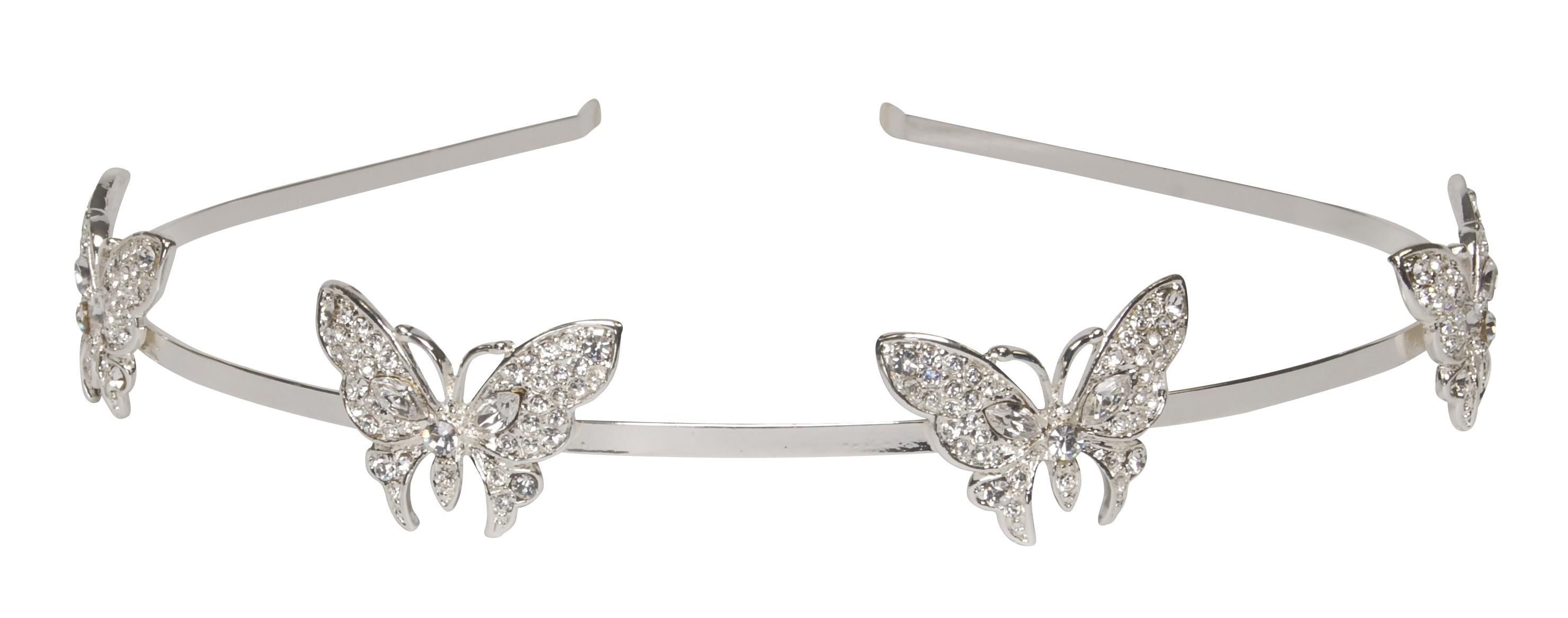 Lila butterfly aliceband