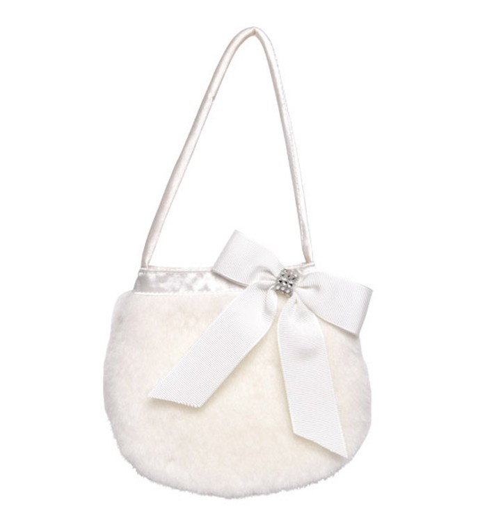 Lucinda faux fur bag