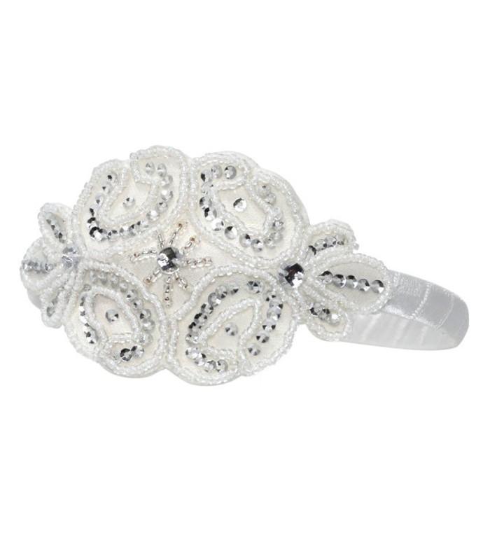 Tiffany embellished aliceband
