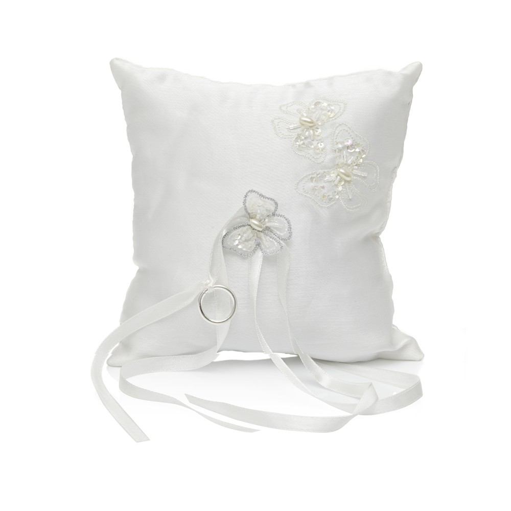 Jayde butterfly ring cushion