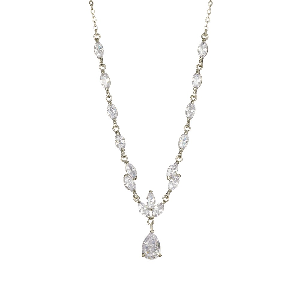 Megan Crystal Necklace