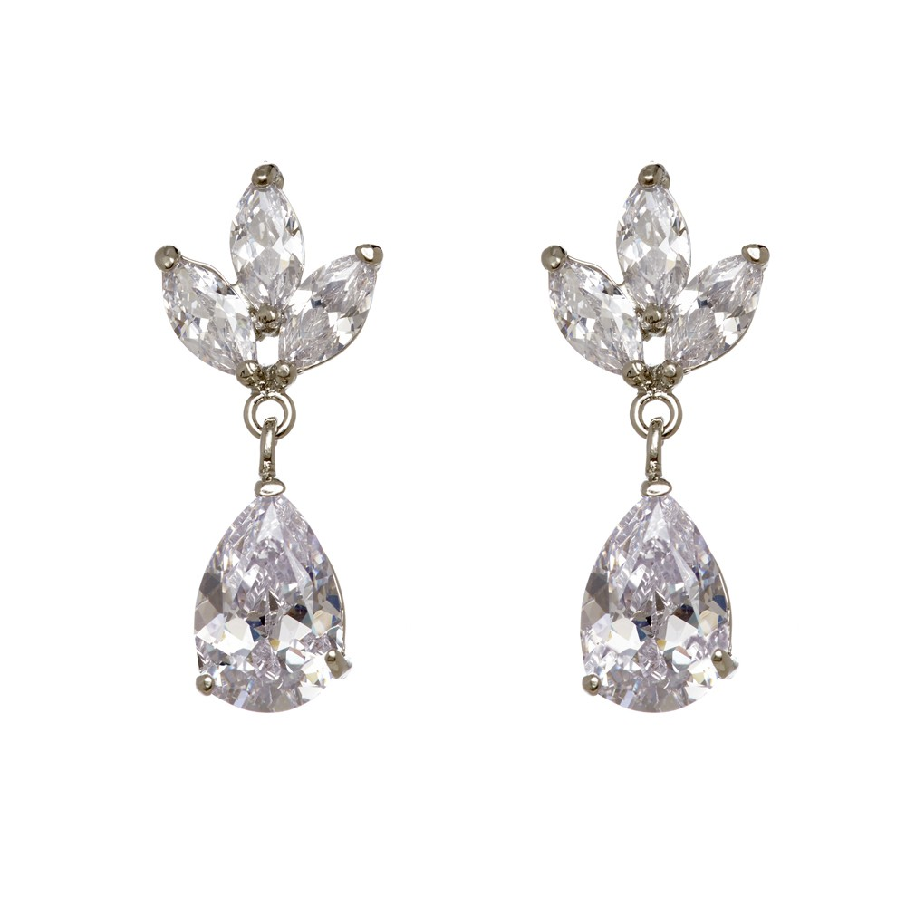 Megan Crystal Earrings