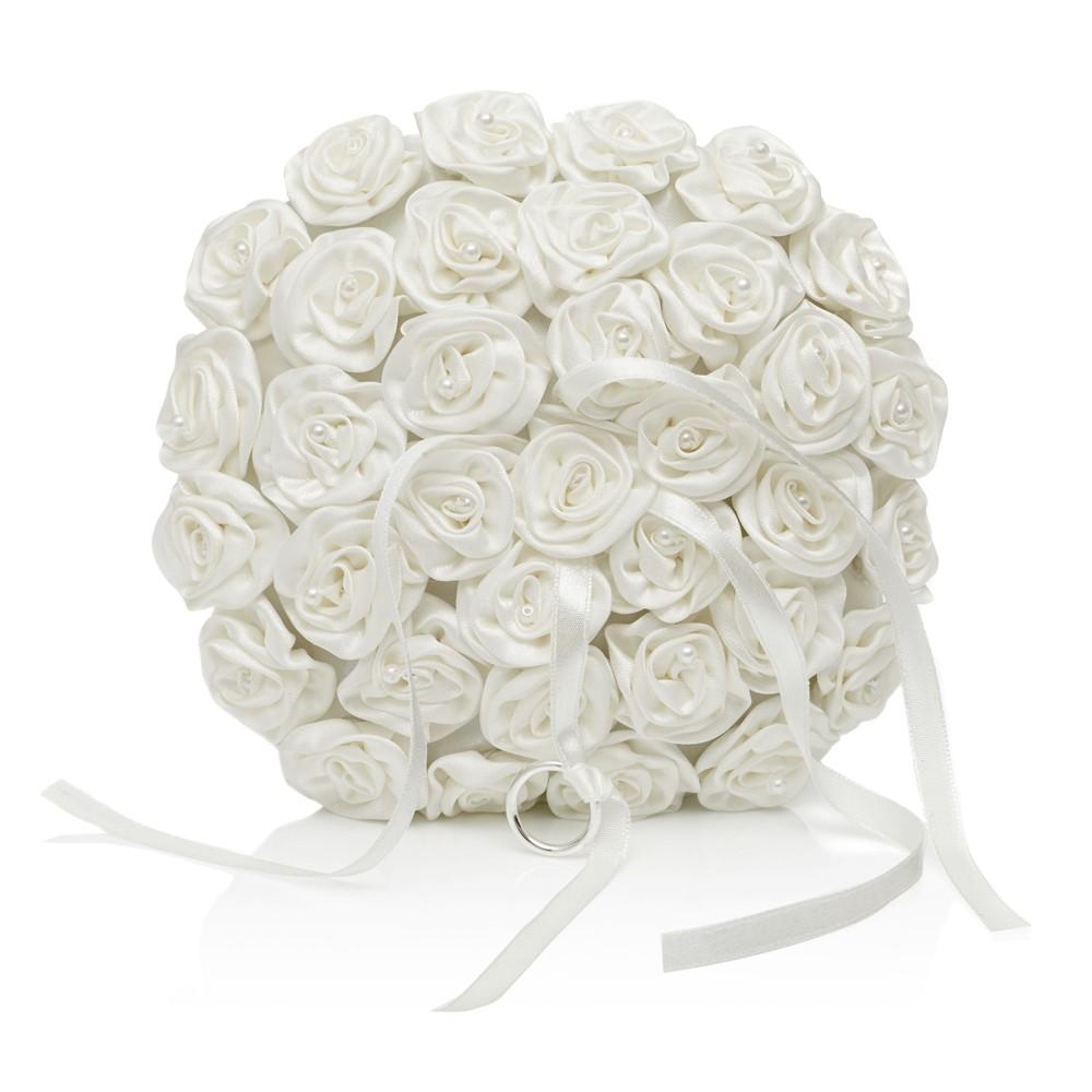 Rebecca Pearl Ring Cushion