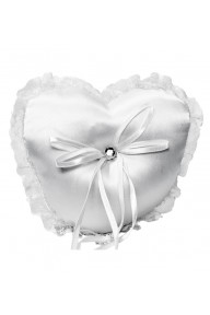 Layla heart ring cushion