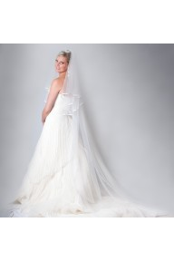 Alexandra crystal cathedral length veil