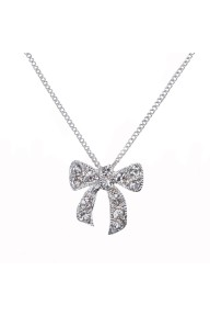 Tienna bow necklace