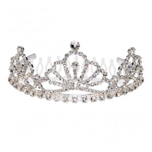 Bridesmaid half comb tiara