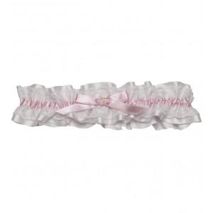 Kyla pink lace garter