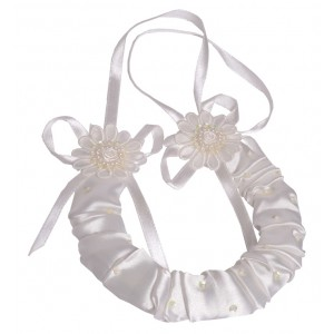 Maria bridal horseshoe