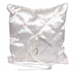 Marnie quilted ring cushion