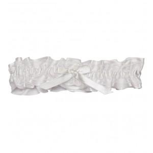 Kyla white lace garter