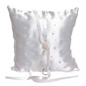 Amelia sequin ring cushion