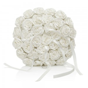 Rebecca Pearl Ring Cushion