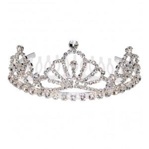 Bridesmaid half comb tiara